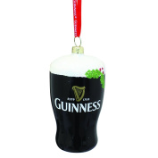 Guinness Christmas Decoration - Pint, Glass, Holly