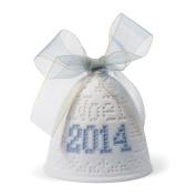 Lladro 2014 Christmas Bell Ornament