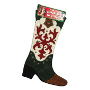 Rivers Edge Products 1727 Cowboy Boot Christmas Stocking