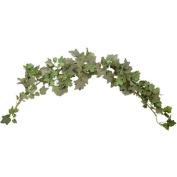 0.9m Elegant Flocked Ivy Swag Christmas Holiday Decor - Green h3