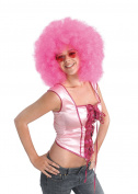 Jumbo Pink Afro Party Wig