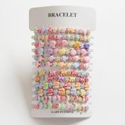 2 X 12 Children's Bracelets - Ideal For Party Bags