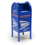 USPS Postal Mini Dropbox Licenced Toy Replica Paper Clip Holder Tyotoys
