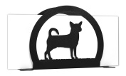 CHIHUAHUA Metal Letter Napkin Card Holder