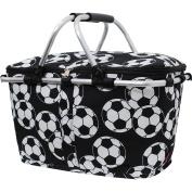 Canvas Soccer Market Basket