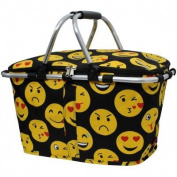 Insulated Emoji Cooler Shoulder Bag