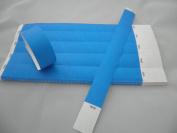 100 BLUE Premium Tyvek Wristbands