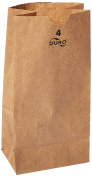 Green Direct GDLB-50 Perfect Brown Durable Paper Lunch Bag for All Ages
