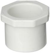 Spears 449-CS Series PVC Pipe Fitting, Counter Sunk Plug, Schedule 40, 2.5cm Spigot
