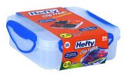 Hefty® Clip Fresh® 2.5 CUPS SQUARE W/4 REM INSRT