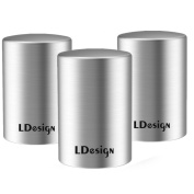 [3 Pack]Beer Bottle Opener, LDesign Stainless Steel Automatic Bottle Opener to remove the bottle caps of beer, carbonated drinks, sparkling water, soda, No damage to caps