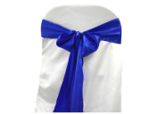 Satin Chair Sashes - Royal Blue - Packet of 5