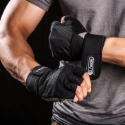 Pseudois Men's Weight Lifting Gloves for Gym Workout, CrossFit, Weightlifting, Powerlifting, and Running —Pair