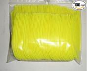 AMG Arrow Feathers 7.6cm RW Parabolic Flo Yellow Pkg/100