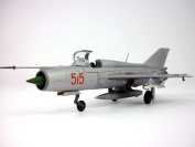 Mikoyan-Gurevich MiG-21 Fishbed 1/72 Scale Diecast Metal Model