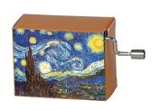 "Fridolin 147380cm Tschaikowsky Flower Waltz/Van Gogh Starry Night"" Music Box"