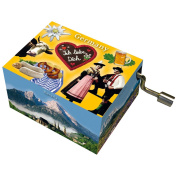"Fridolin 148440cm Edelweiss/Germany Bavaria"" Music Box"