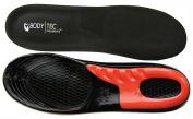 Bodytec Massaging Gel insoles for performance sports Running or Hiking. Fantastic Shock Absorption Insoles Black