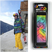 Skiweb Multi Coloured Ski Carrier Strap - The Hands Free Ski Carrier