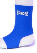 Sandee Muay Thai Ankle Supports (Anklets) Blue
