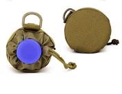 Huntvp Tactical Military Water Bottle Holder Pouch Outdoors 900D Nylon Molle Kettle Bag Holder