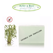 100g CITRONELLA Soap Bar - Pure and Natural Essential Oils by Alphy & Becs