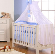 Large Blue Mosquito-Net Prince-Design Baby Bed Canopy