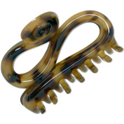 Ebuni | S shaped 8cm Hair Claw | Made in France
