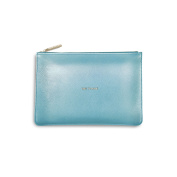 Katie Loxton - The Perfect Pouch - Time To Shine - Metallic Blue