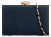 Girly HandBags Elegant Suede Clutch Bag
