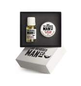 The Bearded Man Company - Set Of Two Beard Oil And Moustache Wax Driftwood Gift Boxed by The Bearded Man