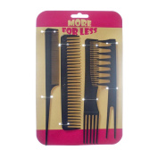 HAIRSTYLING HAIR TEASING STYLING BLACK COMBS by ALANNAHS ACCESSORIES