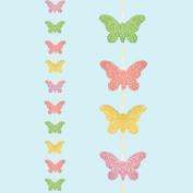 Uwant Fashion Easter Arts & Craft Bonnet Decorations Egg Hunt - Glitter Butterfly 2M Garland