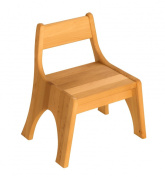 Robin chair for kindergarden, seating height 25 cm