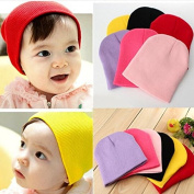 Calli Baby Boy Girl Infant Beanie Candy Pure Colour Knit Cap Hat