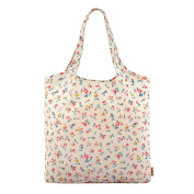 CATH KIDSTON Coral Multi Regents Ditsy Foldaway Shopper Bag