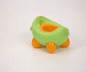 Baby Bug Potty Green - with toilet roll holder