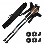 New. Durable Aluminium 1 Pair of Paria Nordic Walking Poles with Anti-Shock System sold by SchwabMarken
