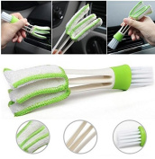 1pcs Air-condition Cleaner Computer Clean Tools Pocket Brush Keyboard Dust Collector Window Leaves Blinds Cleaner Duster