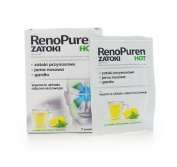 RENOPUREN HOT - 7 sachets - s recommended as a dietary supplement for people with persistent upper respiratory problems