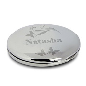 Butterfly Swirl Compact Mirror Gifts, and, Cards Anniversary, Cards, Idea Occasion, Gift, Idea Personalised by GiftRush