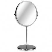 Giratorio Shaving Mirror Chrome Magnifying Option Contemporary Design Attractive Look. by choicefullshop