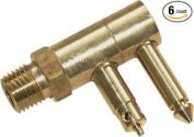 Unified Marine 50052220 Mercury Male Fuel Connector, Brass, 0.6cm . NPT