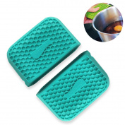 Cookline Spill Stopper - Protec Finger Protectors - Set of 2... turquoise