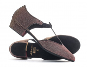 Ladies Girls All Colours Glitter Leather Dance Greek Sandal Teaching Jive Salsa Ballroom Cerco Shoe By Katz Dancewear