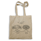 You and me true love cute Novelty Tote bag s2r
