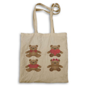 Collection Of the bears She and he Novelty Tote bag p98r