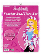 Bachelorette Party Favours Feather Tiara And Boa