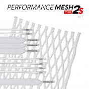 StringKing Type 2s Semi-soft Lacrosse Mesh Kit with Mesh and Strings