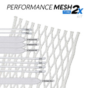 StringKing Type 2x Semi-hard Lacrosse Mesh Kit with Mesh and Strings